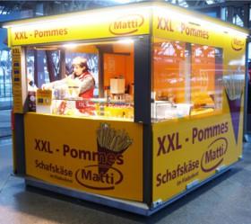 xxl Pommes imbiss Leipzig