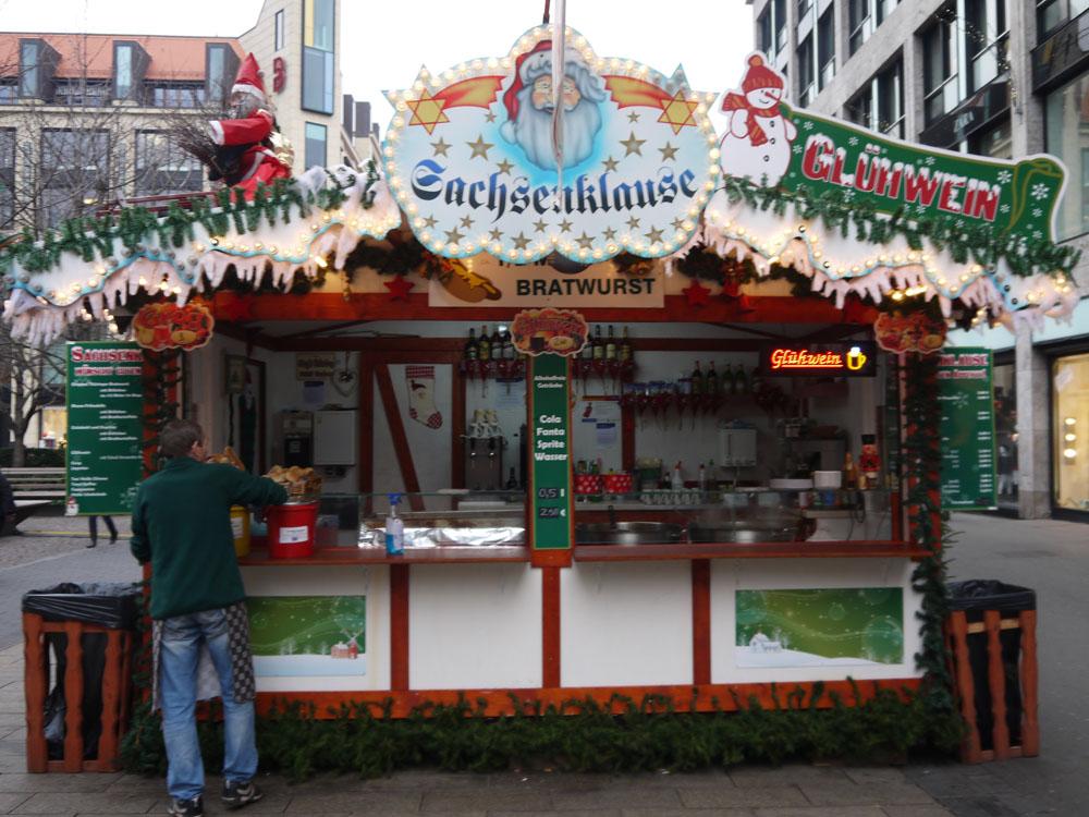sachsenklause Leipziger weihnachtsmarkt